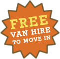 FREE Van Hire Available - To Move In